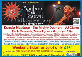 Banbury Folk Festival poster