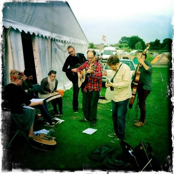 Collaborations at Shrewsbury Folk Festival