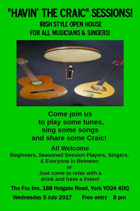 Havin The Craic Sessions 05.07.2017