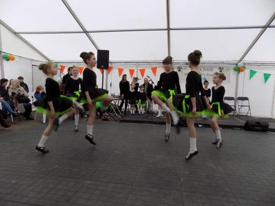 O Connor Academy Dancers at York Irish St Patrick's Festival
