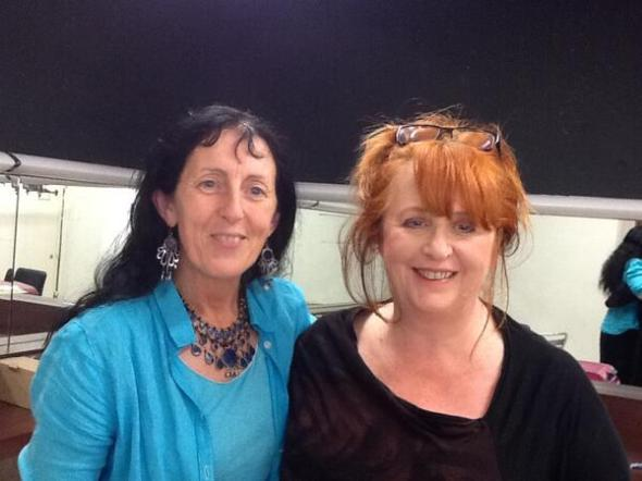 PR with Mary Coughlan