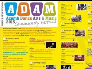 ADAM Festival Programme 2015