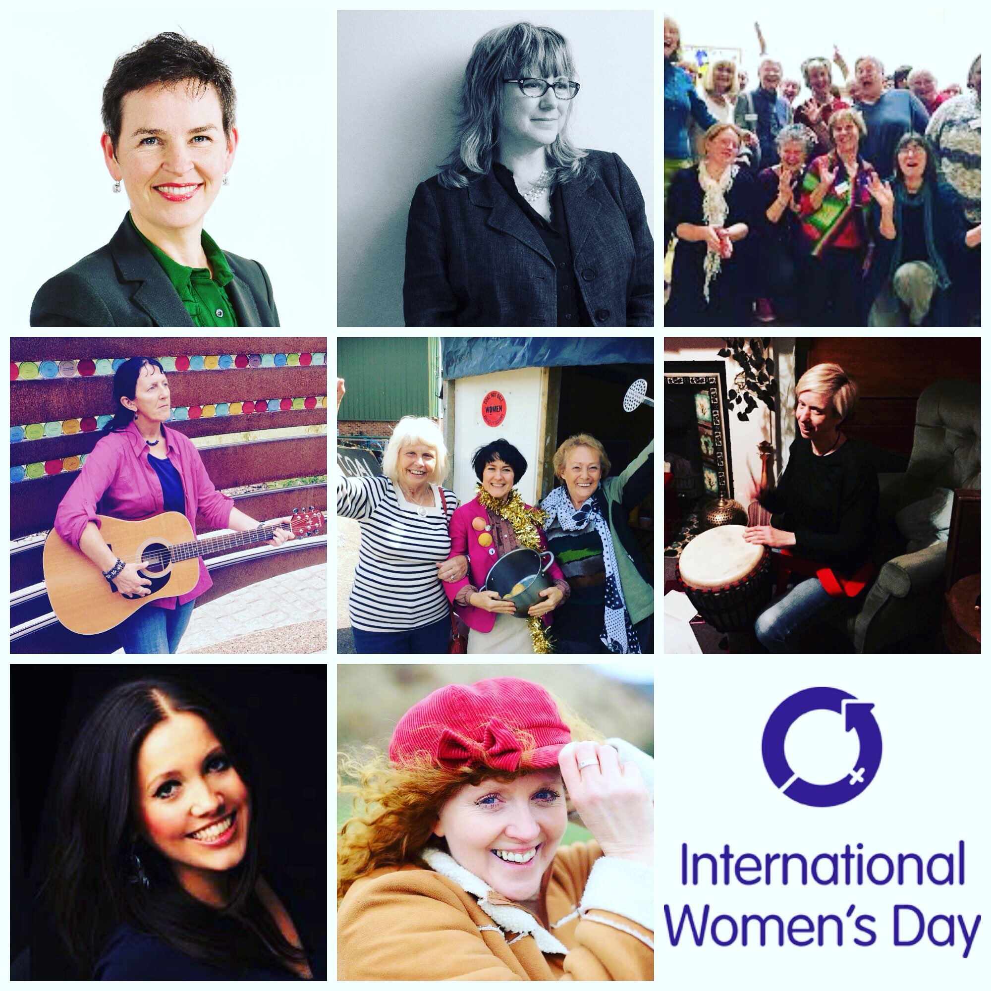 Mining Museum IWD day combined photo