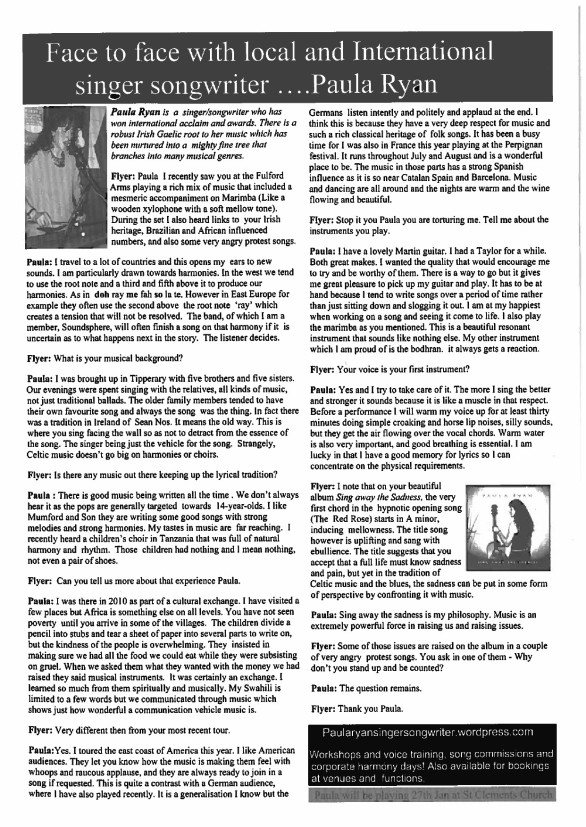 York Flyer Interview