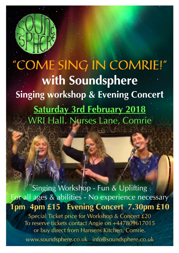 Comrie A5 Flyer