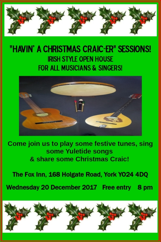 Havin The Craic Sessions 7 20.12.2017