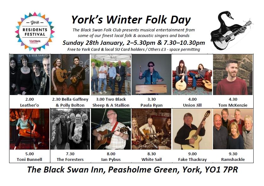 Winter Folk Day 2018 poster