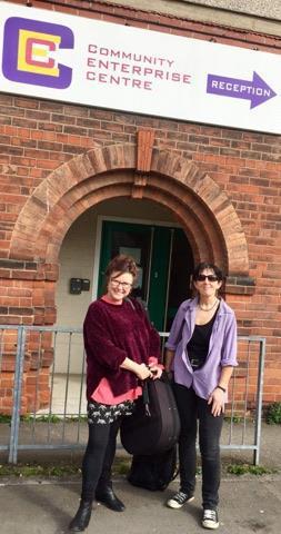 Ali & Paula Migrant Songwriting & Singing Project Hull