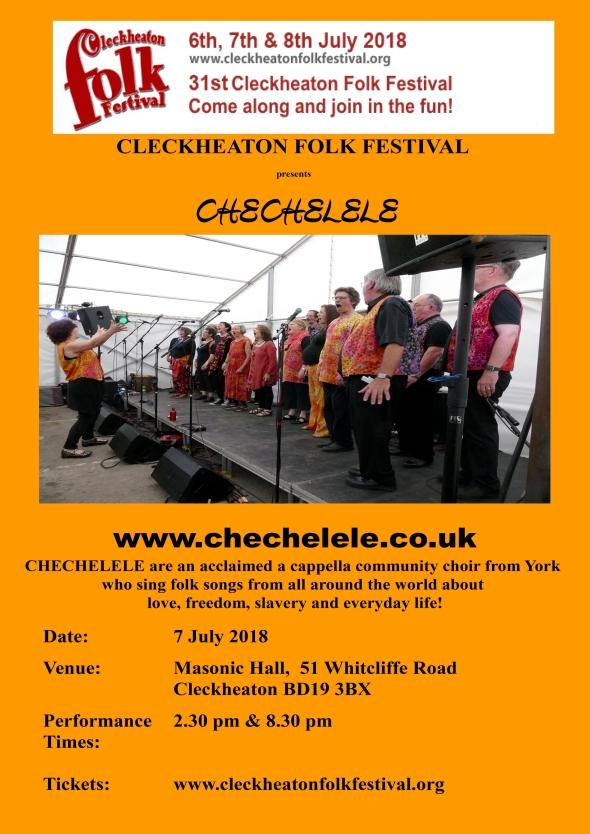 Cleckheaton Folk Festival poster