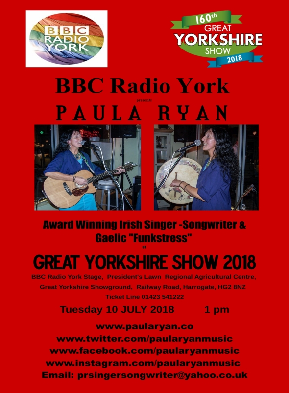 Great Yorkshire Show 2018 poster