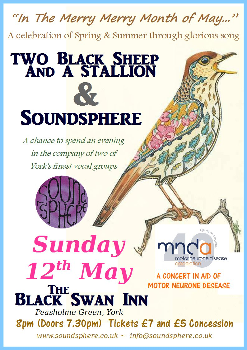 Soundsphere with Two Black Sheep and A Stalion Concert 12.05.2019 poster