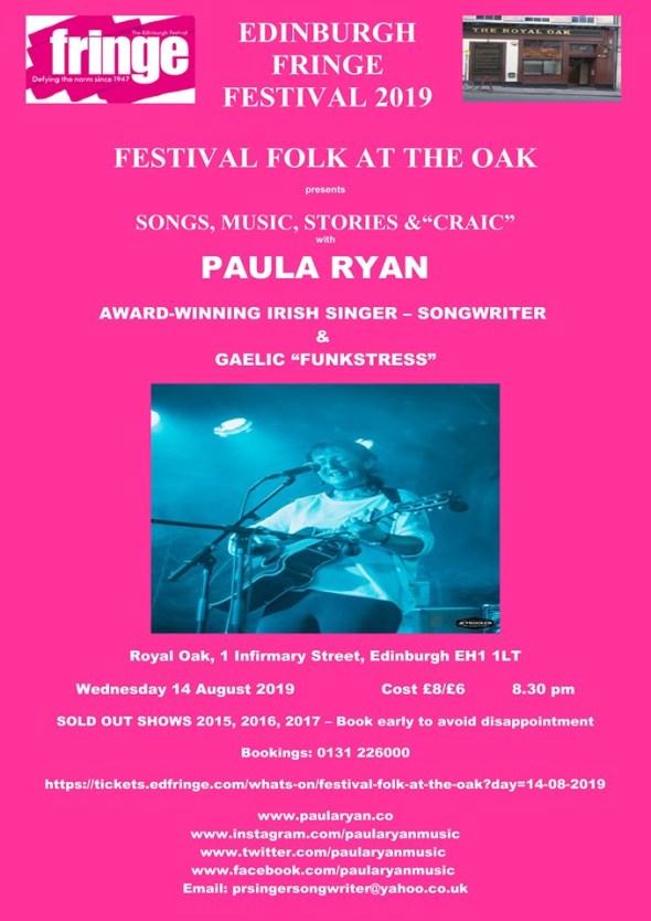Edinburgh Fringe 2019 Poster