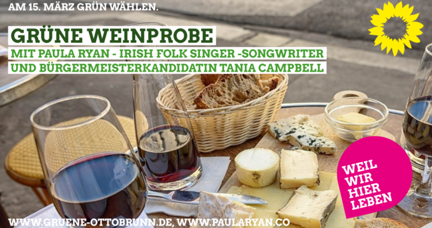 gruene-weinprobe-mit-paula-ryan-irish-folk-singer-songwriter-und-buergermeisterkandidatin-tania-campbell-FB-850x450 - flyer 17.01.2020 B